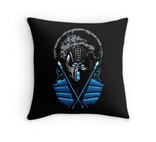 Mortal Kombat - Sub Zero Throw Pillow