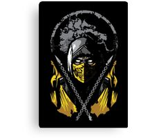 Mortal Kombat - Scorpion Canvas Print