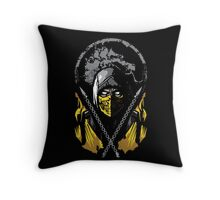 Mortal Kombat - Scorpion Throw Pillow