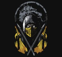 Mortal Kombat - Scorpion by woundedwarriors