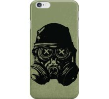 Gas mask skull iPhone Case/Skin