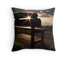 Bardon on the Hill Throw Pillow