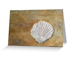 The Fossil Shell Greeting Card