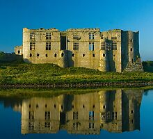 Carew Castle  by Mark Robson