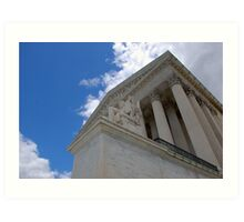 Highest Court in the Land  Art Print