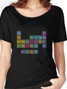 Adobe Table of Elements Women's Relaxed Fit T-Shirt