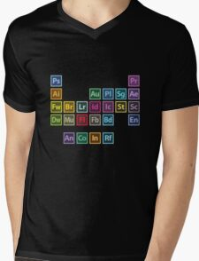 Adobe Table of Elements Mens V-Neck T-Shirt