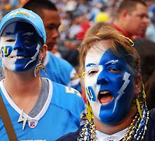GO CHARGERS! by Ron Hannah