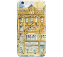 Bathurst Mansions and Hollywood Bistro iPhone Case/Skin