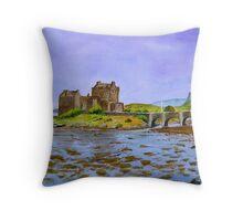 Eilean Donan... Throw Pillow