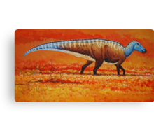 Field of Gold - Edmontosaurus Canvas Print