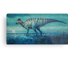 Prairie Moon - Corythosaurus Metal Print