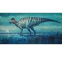 Prairie Moon - Corythosaurus Photographic Print