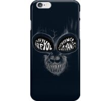 Donnie Darko: Questioning Frank's Bunny Suit iPhone Case/Skin