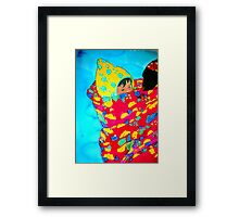 Grandmother with Baby II Framed Print