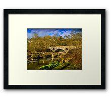 Cenarth Road Bridge Framed Print