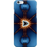 Transformed Mandelbrot Division No. 2 iPhone Case/Skin