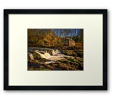 Cenarth Falls and Mill Framed Print