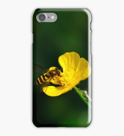 Where the bee sucks, there suck I..... iPhone Case/Skin