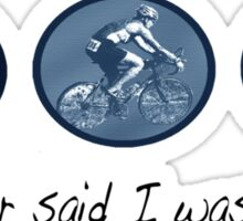 Triathlon Crazy Sticker
