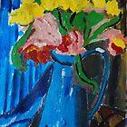 pitcher bouquet by DiJin