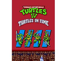 TMNT Turtles in Time Photographic Print