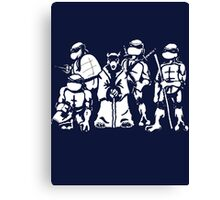mutant ninja turtles cool tshirts,hoodies,sticker,iphone cases, pillow&more Canvas Print