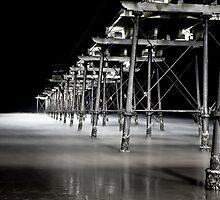 Saltburn Pier, dusk by PaulBradley