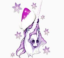 ~Christmas Unicorn~ Womens Fitted T-Shirt