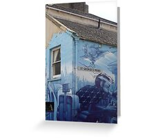 Street Graffiti - Brighton Greeting Card