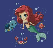 Disney's Ariel - Pokemon Mash Up by woundedwarriors