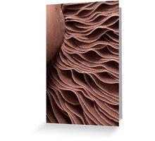 Chocolate ripples? Greeting Card
