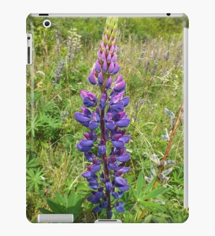 Luscious Lilac Lupin iPad Case/Skin