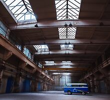 Dark side of the VW bus by monicamarcov