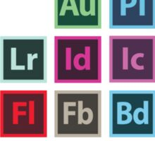 Adobe Table of Elements (Sticker) Sticker
