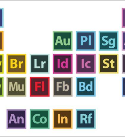 Adobe Table of Elements (Sticker) Sticker