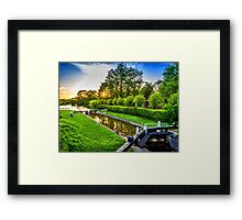 Dun Mill Lock Framed Print