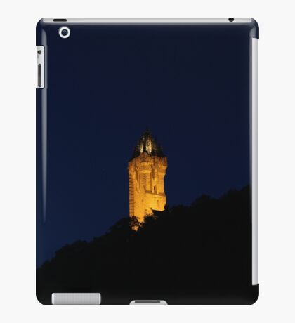 Wallace Monument, Stirling iPad Case/Skin