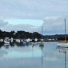 Still Water resort, New Zealand by Heather Thorsen