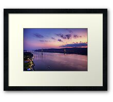 Mid-Hudson Bridge Framed Print