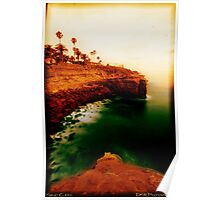Sunset Cliffs, San Diego Poster