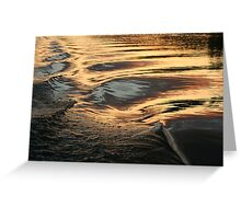Hydro Gold Greeting Card