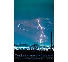 Bo Trek Lightning Strike Poster Photographic Print
