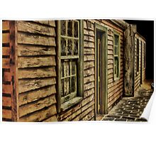 Weathered Cottage Poster