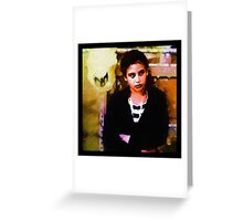 The Glance Greeting Card