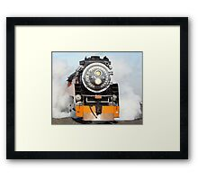 American Freedom Train Locomotive #4449 Framed Print