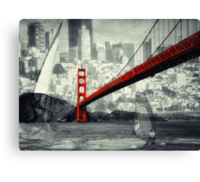 Essence of San Francisco Canvas Print