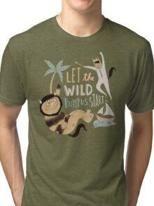 Wild rumpus Tri-blend T-Shirt