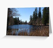 Lake Serenity Greeting Card