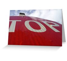 Go To The Top Greeting Card